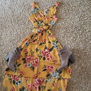 Summer/fall floral sundress!